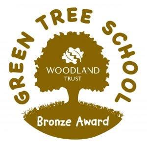 Green Tree bronze Logo